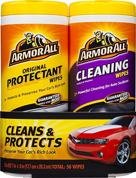 Armor All-10848 Original Protectant & Cleaning Wipes Twin Pack: image