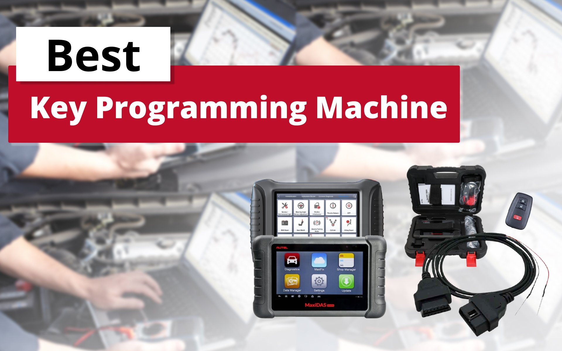 Best Key Programming Machine for All Cars: image