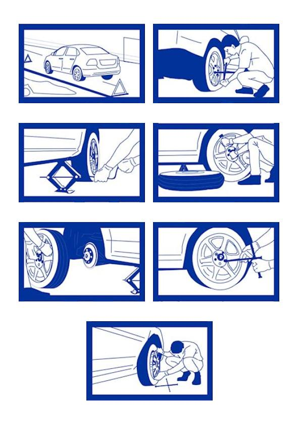 Steps in Repairing Tire Punctures: image