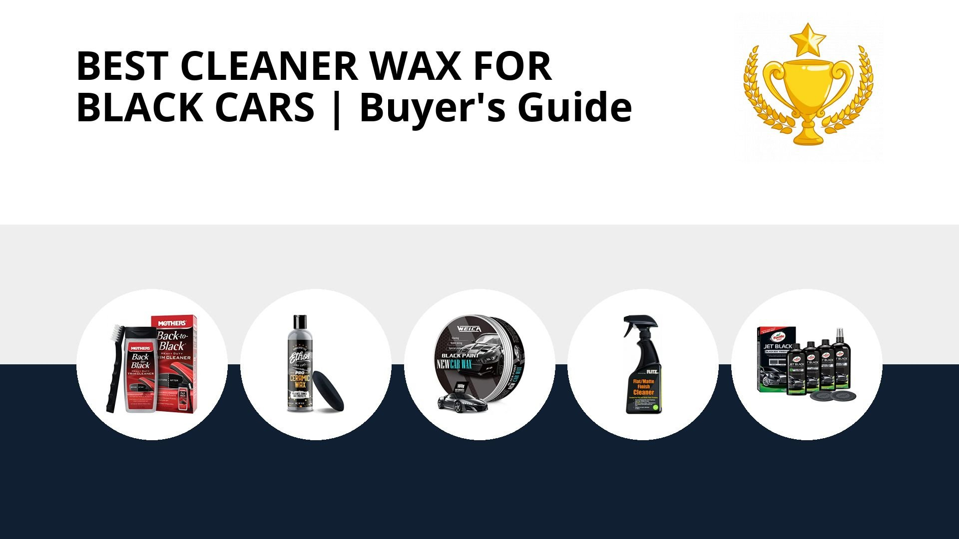 Best Cleaner Wax For Black Cars: image