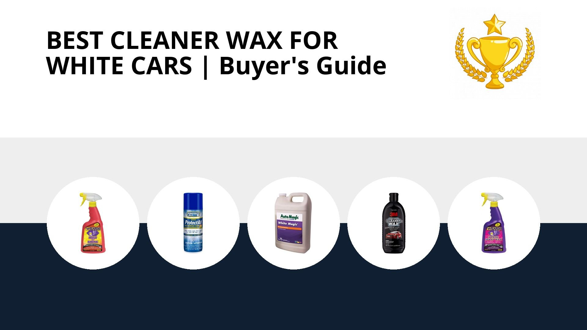 Best Cleaner Wax For White Cars: image