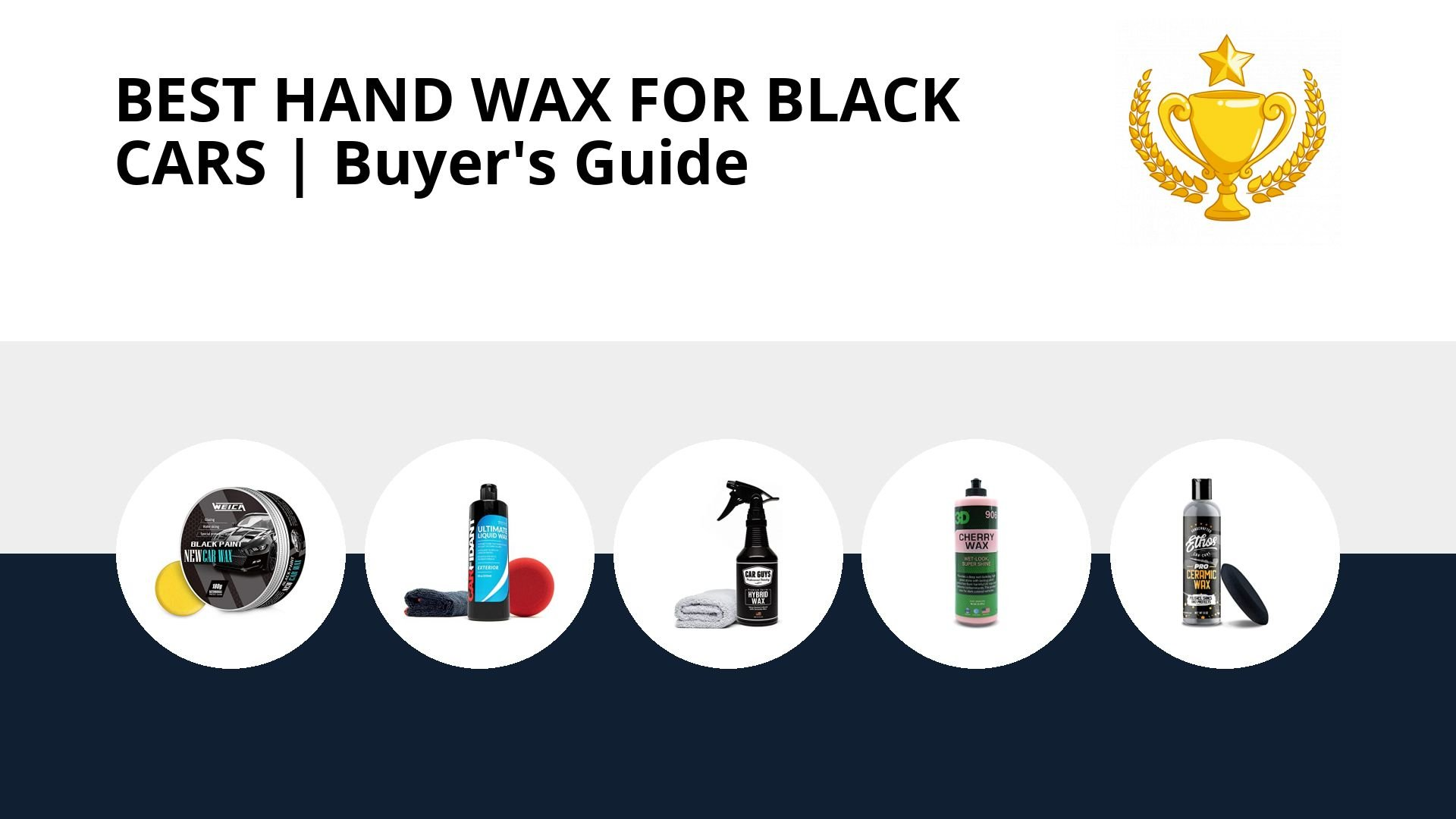Best Hand Wax For Black Cars: image