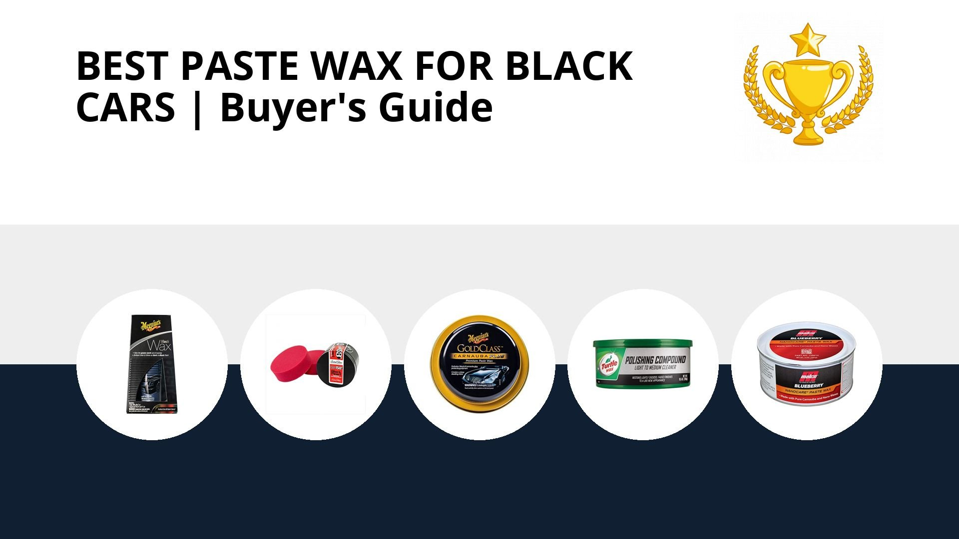 Best Paste Wax For Black Cars: image