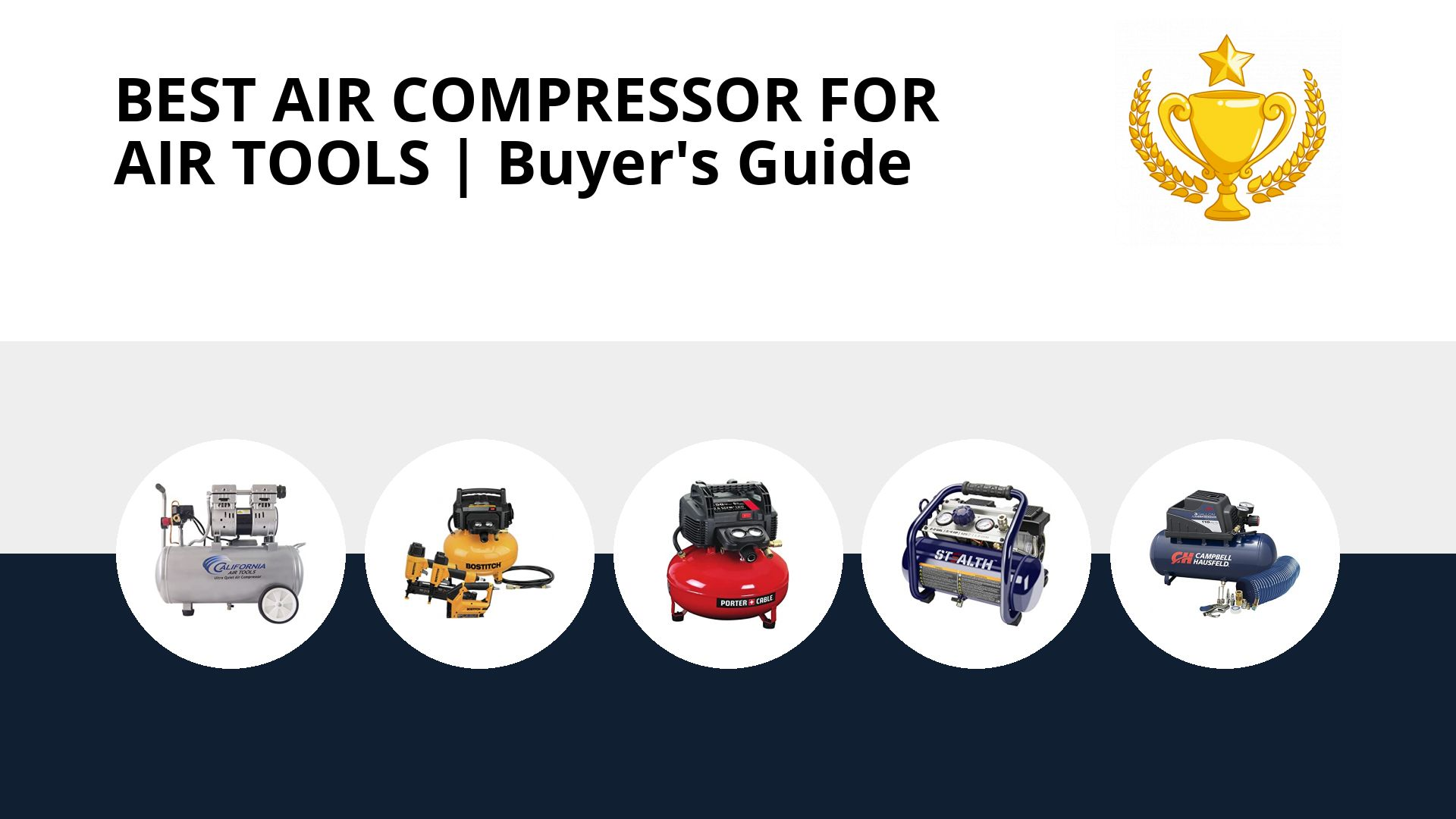Best Air Compressor For Air Tools: image