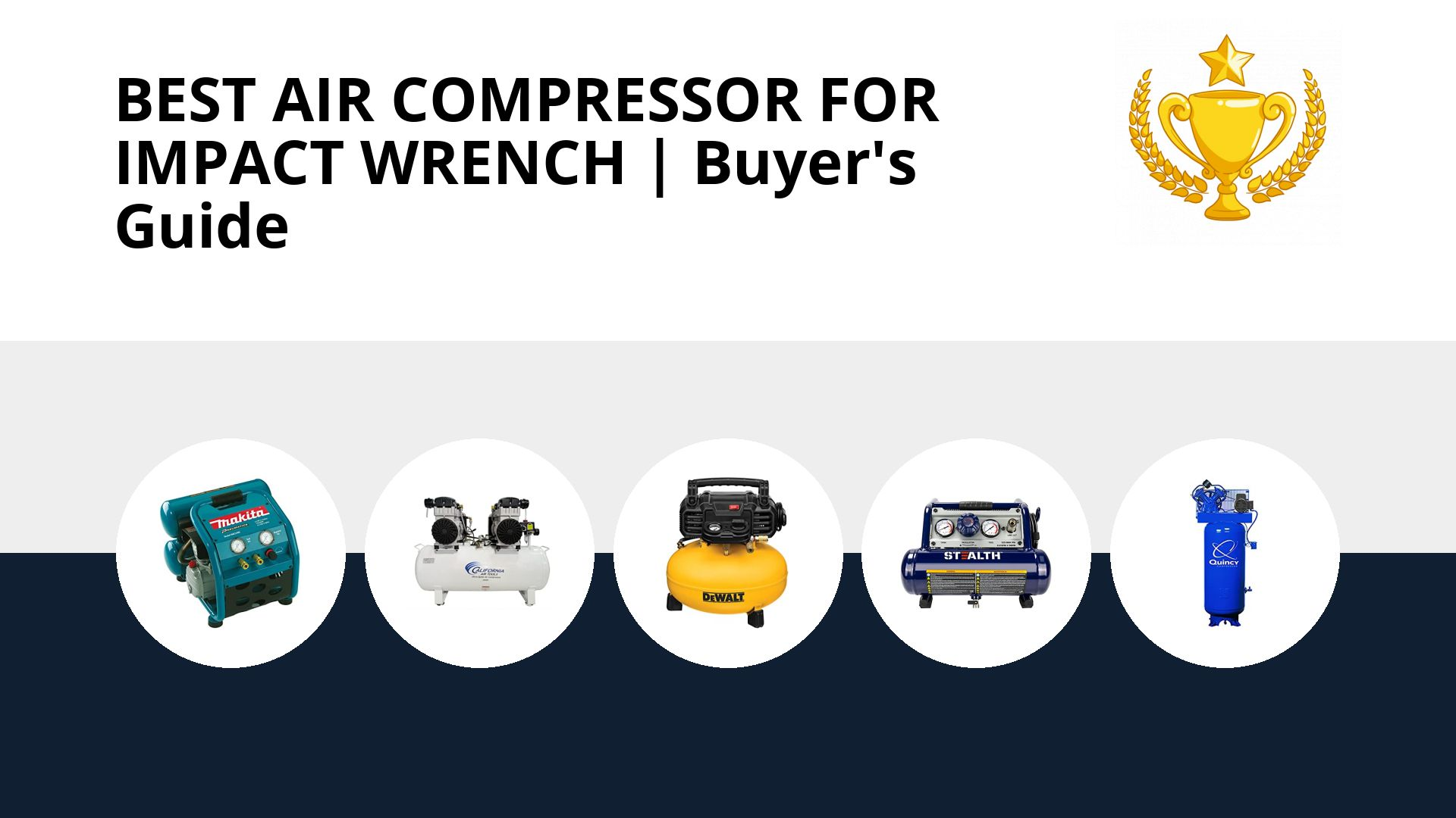 Best Air Compressor For Impact Wrench: image