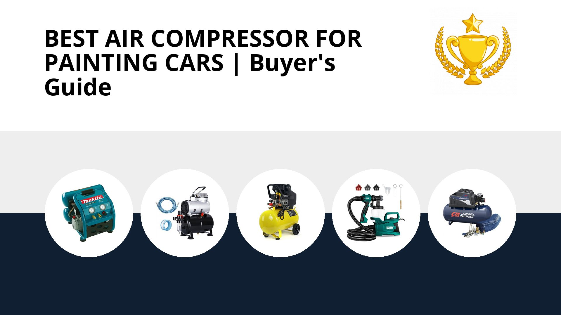 Best Air Compressor For Painting Cars: image