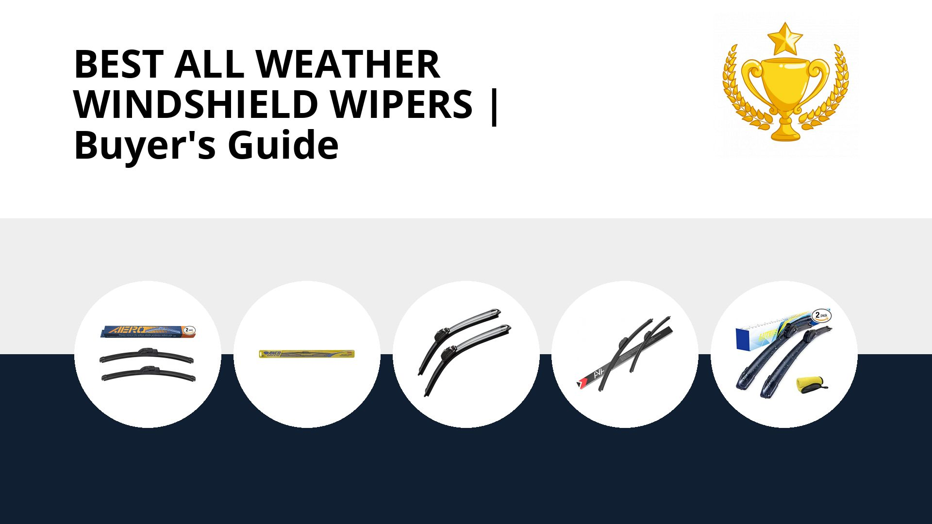 Best All Weather Windshield Wipers: image