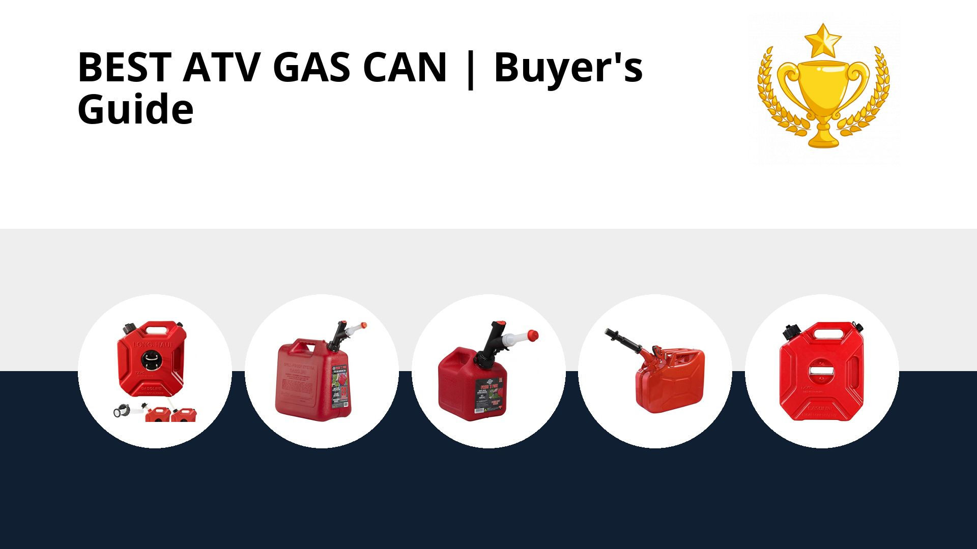 Best Atv Gas Can: image
