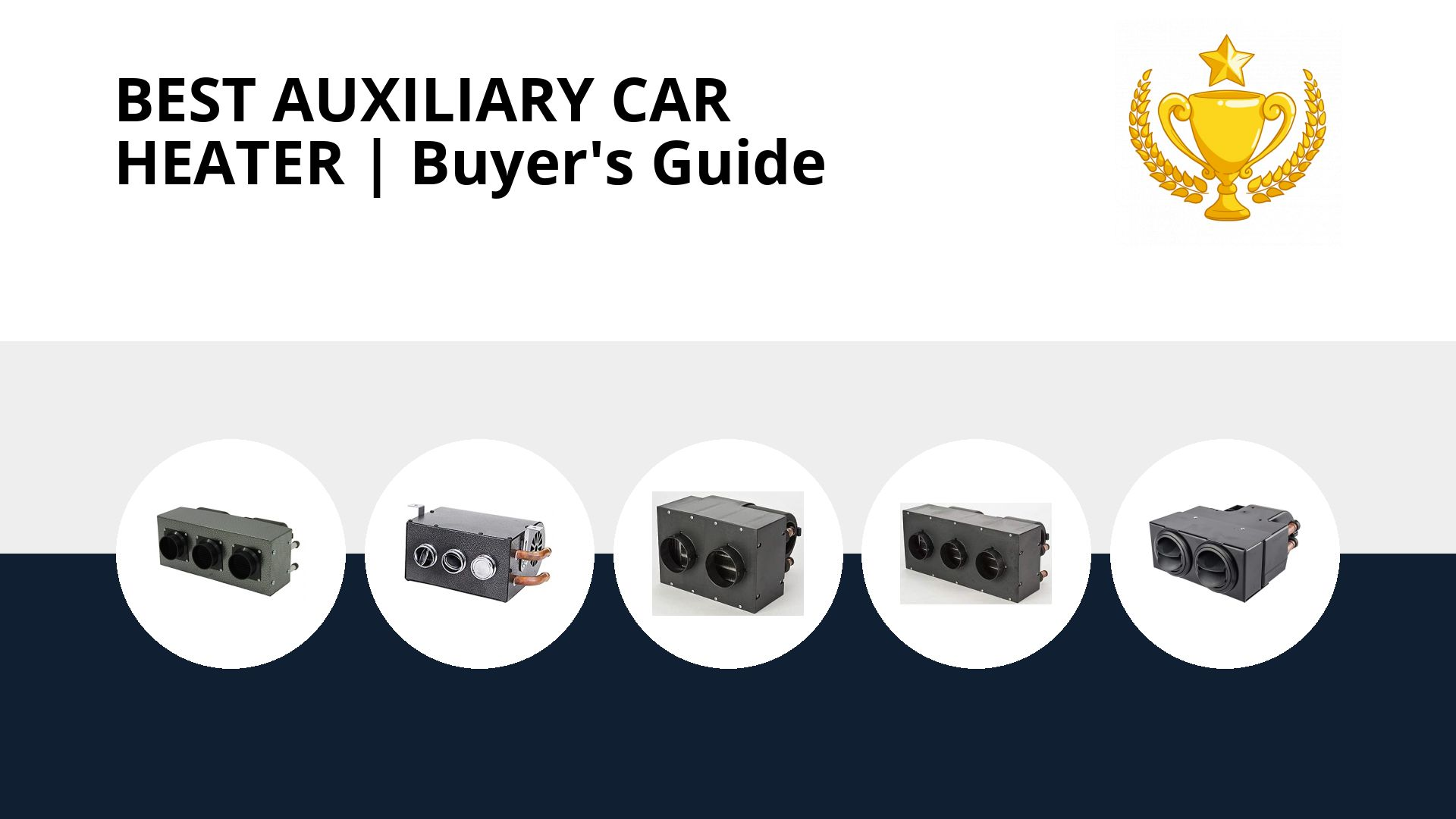 Best Auxiliary Car Heater: image