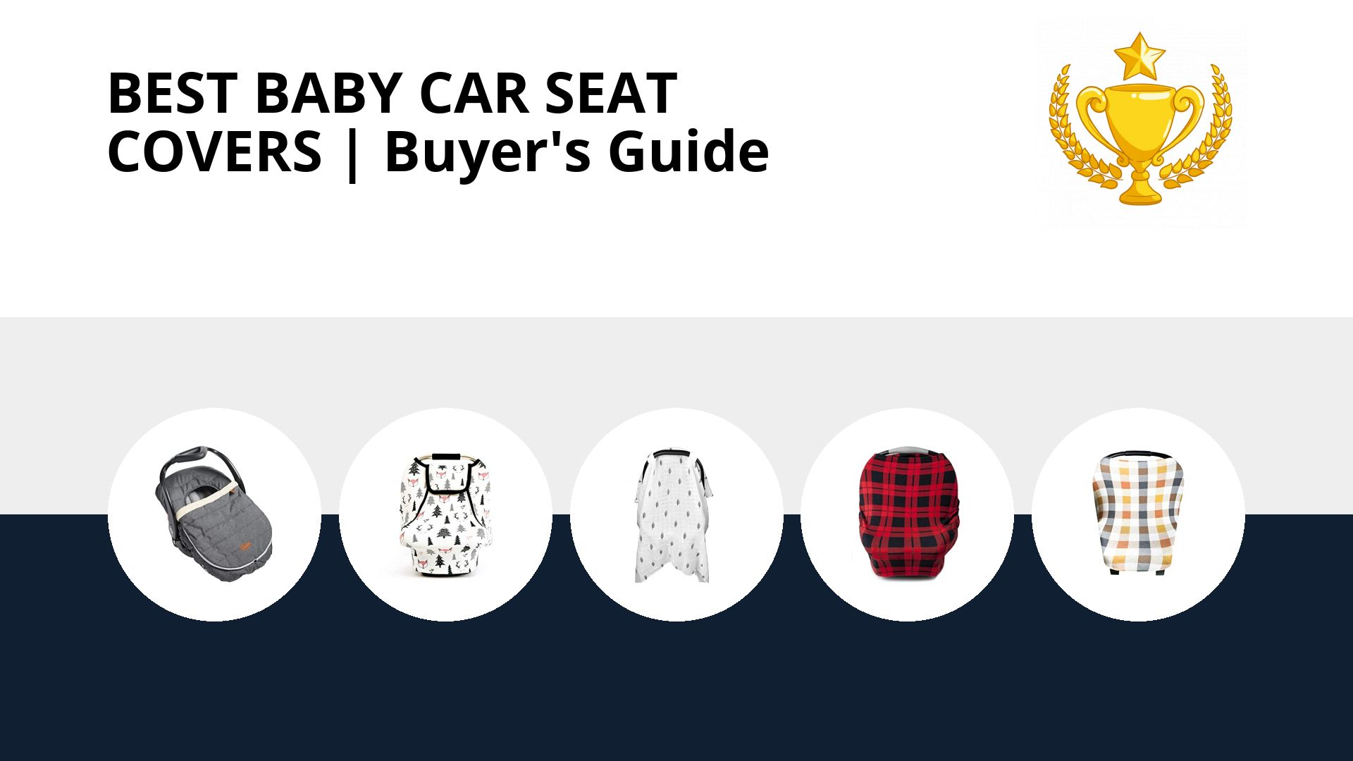 Best Baby Car Seat Covers: image