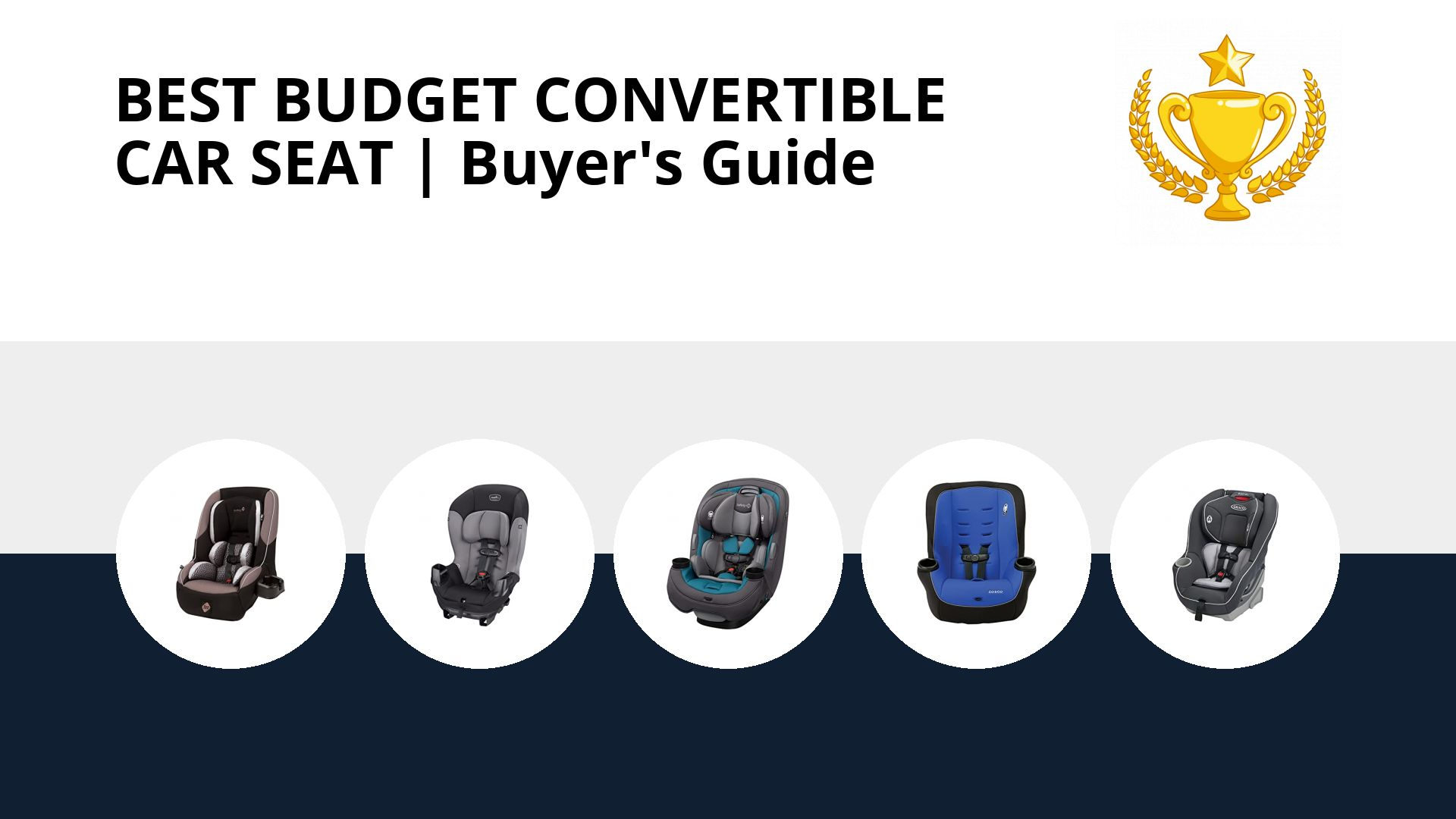Best Budget Convertible Car Seat: image