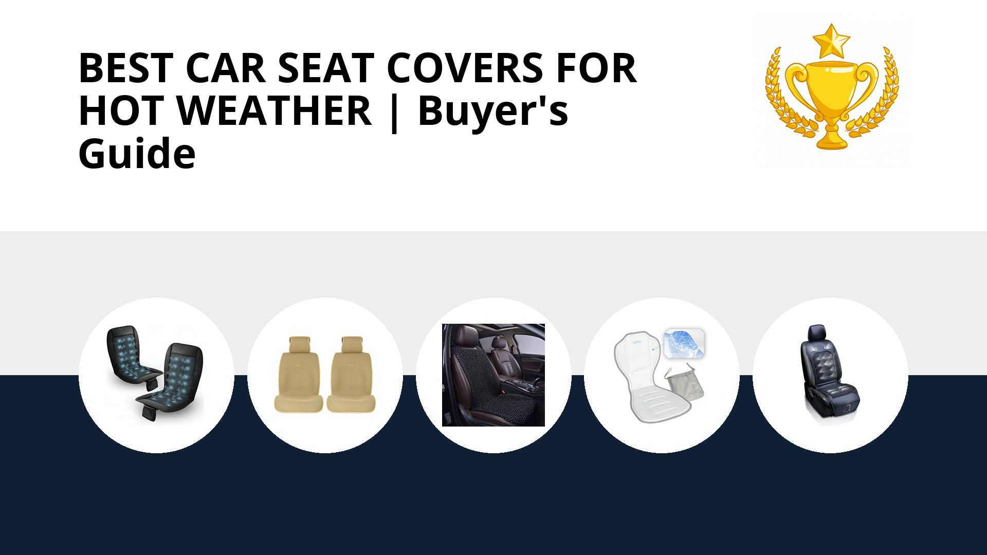 Best Car Seat Covers For Hot Weather: image