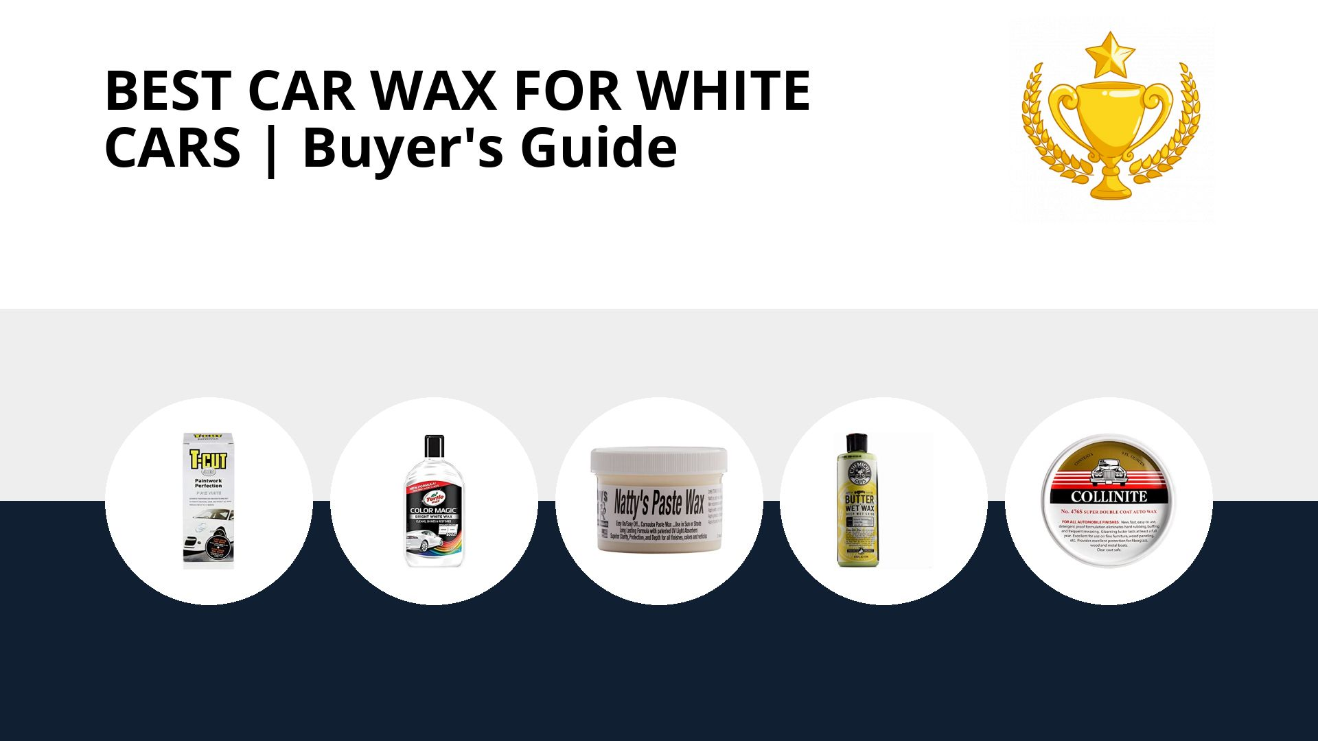 Best Car Wax For White Cars: image