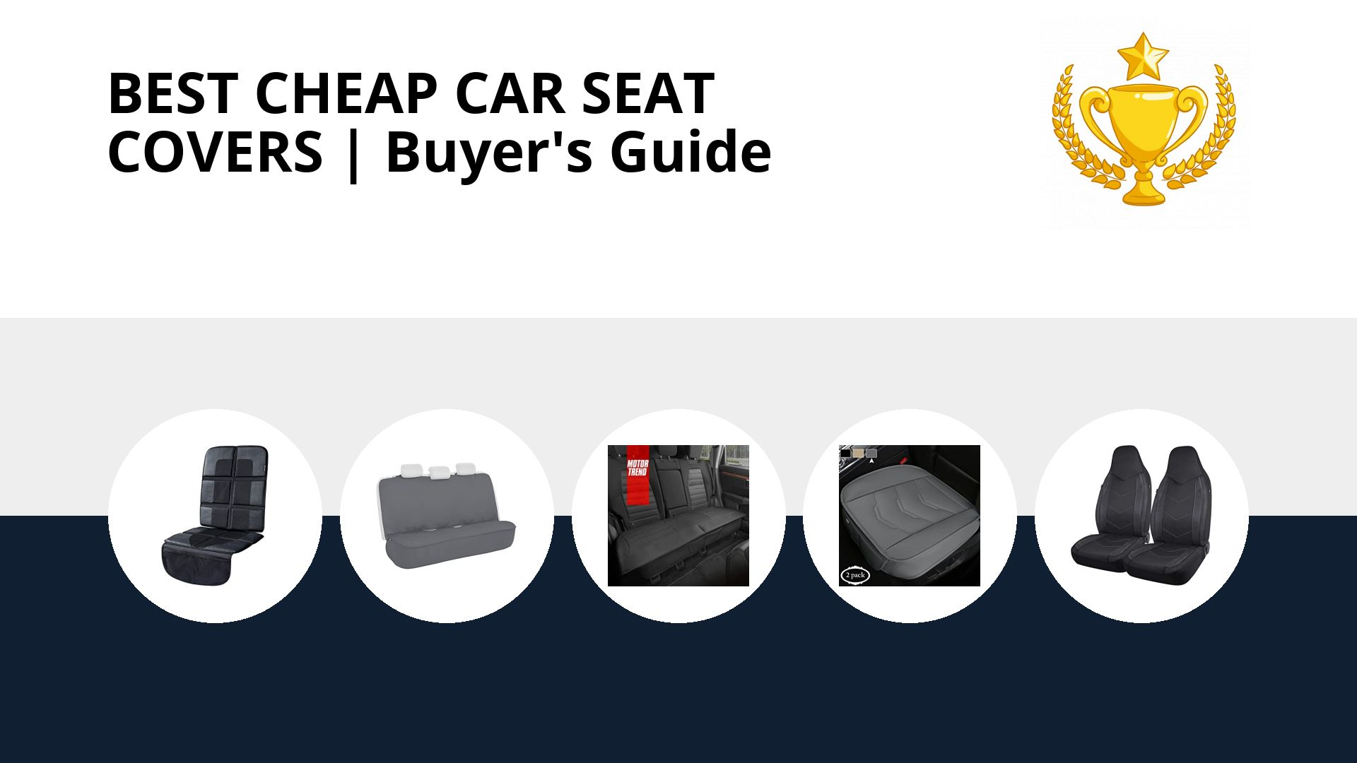 Best Cheap Car Seat Covers: image