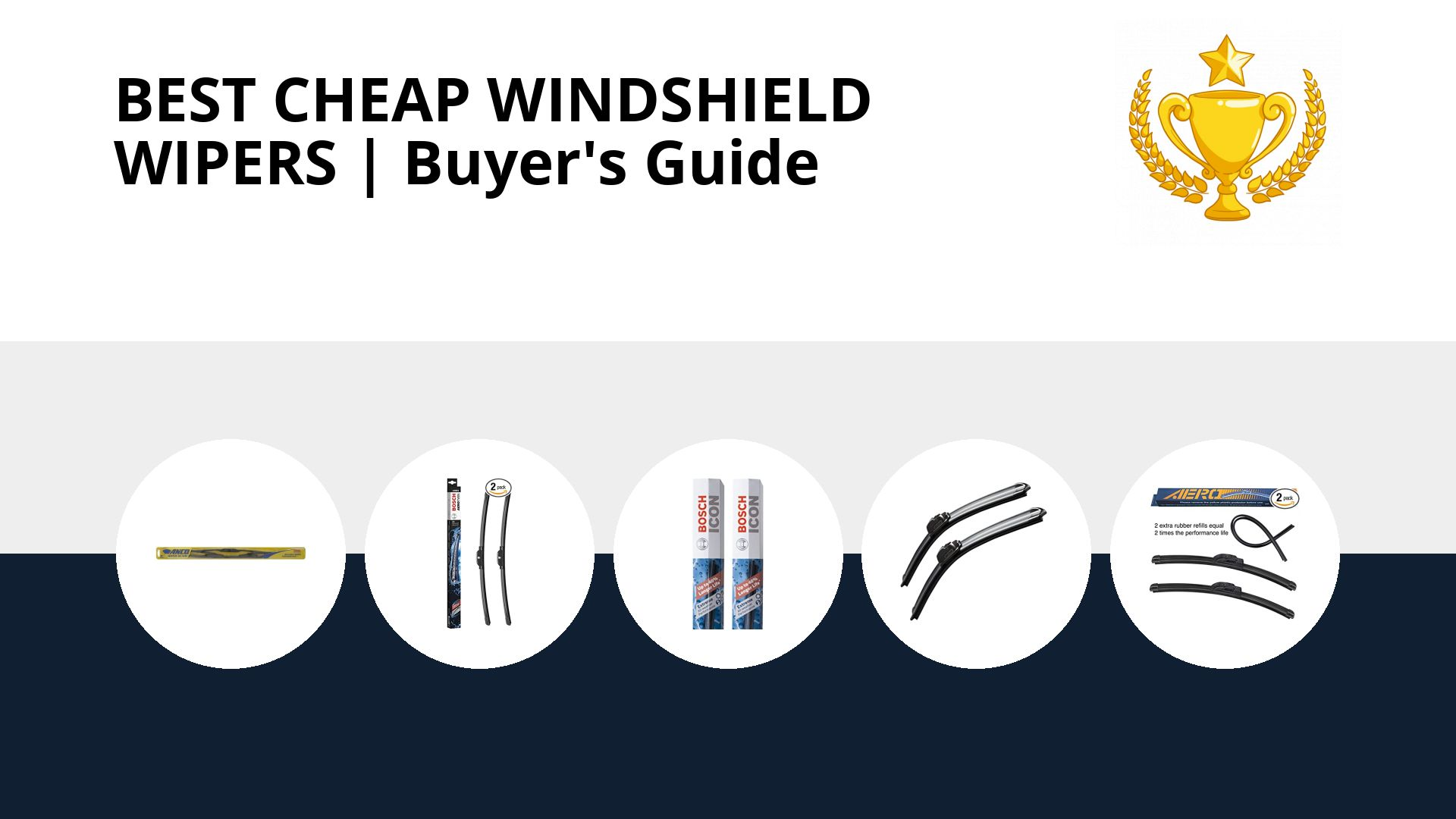 Best Cheap Windshield Wipers: image