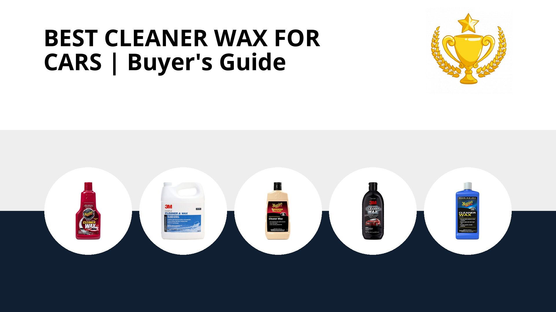 Best Cleaner Wax For Cars: image