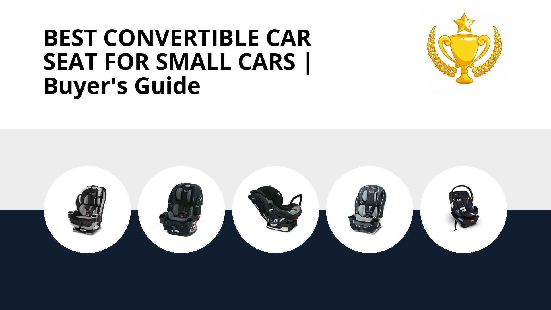 Best Convertible Car Seat For Small Cars: image