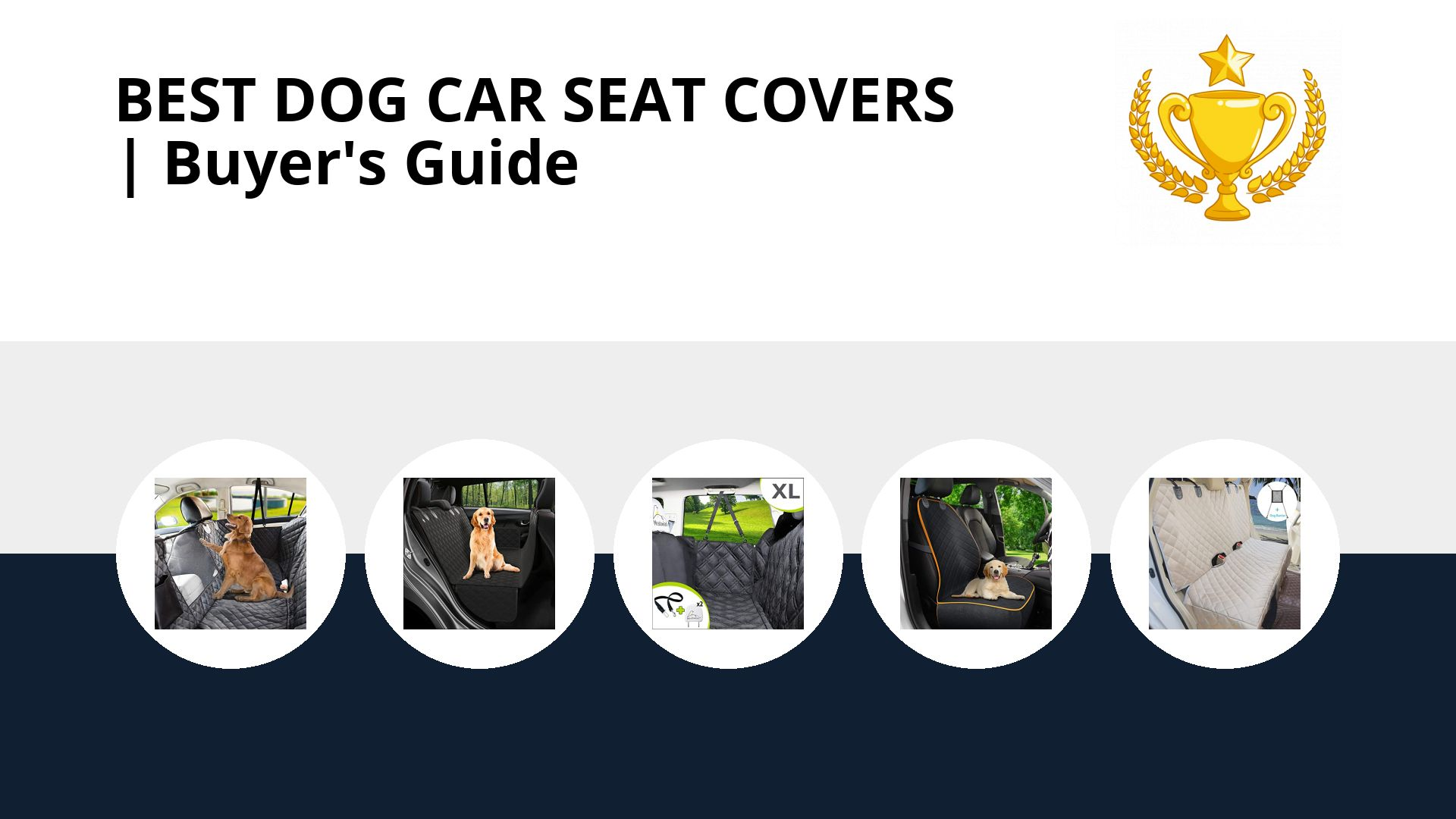 Best Dog Car Seat Covers: image