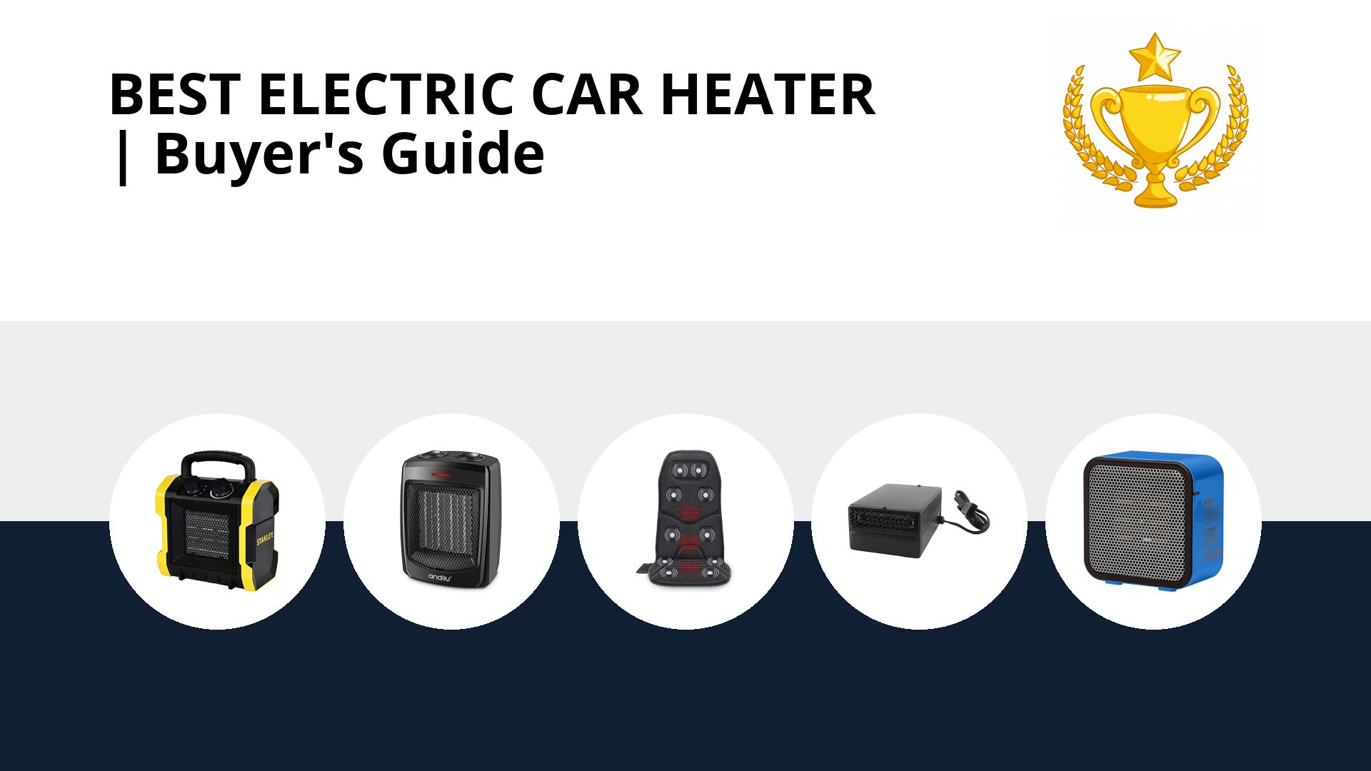 Best Electric Car Heater: image
