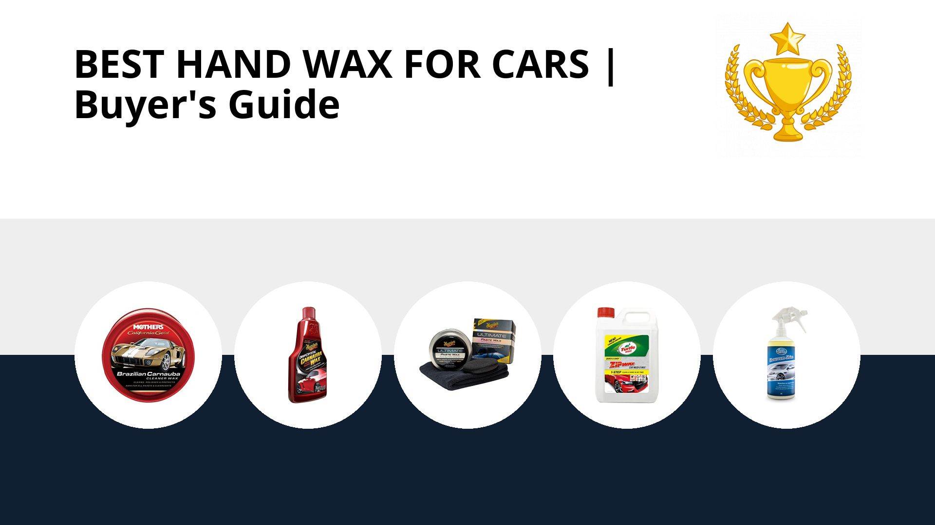 Best Hand Wax For Cars: image