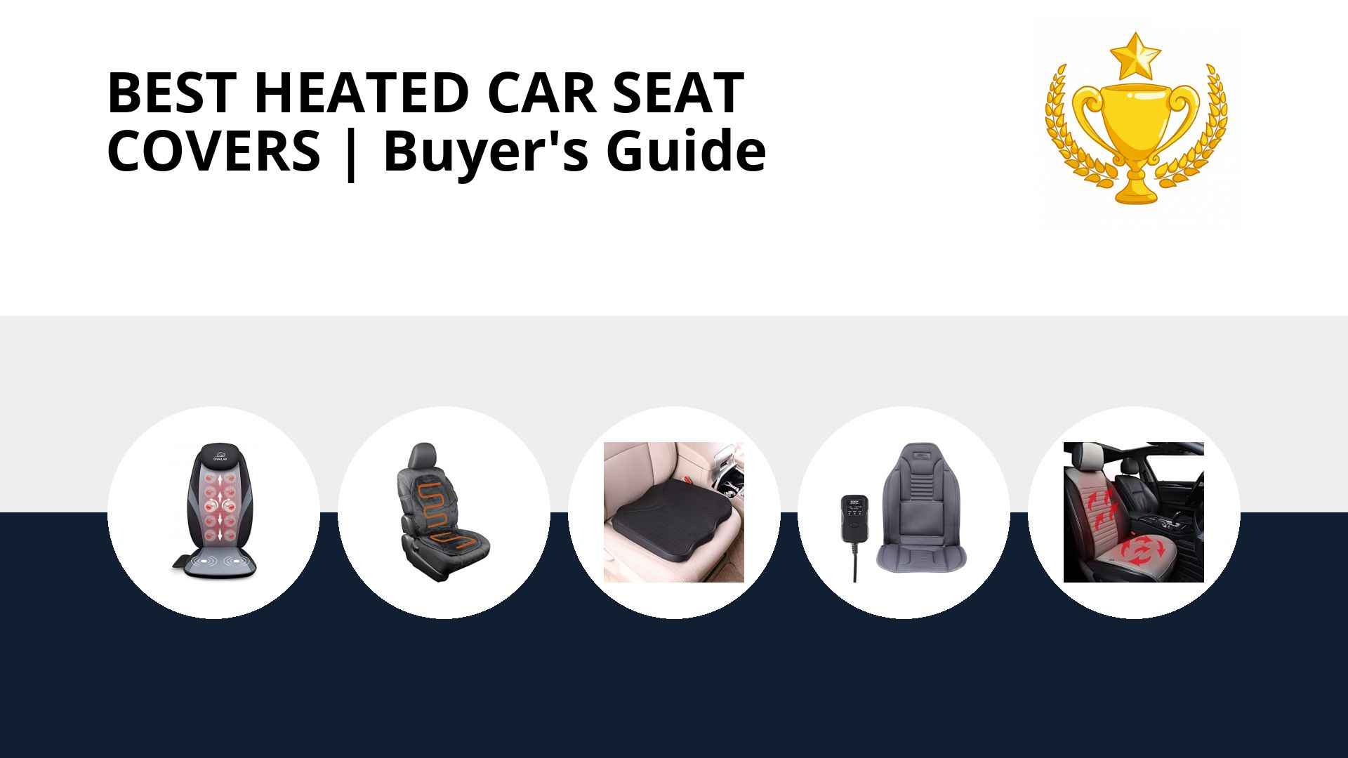 Best Heated Car Seat Covers: image