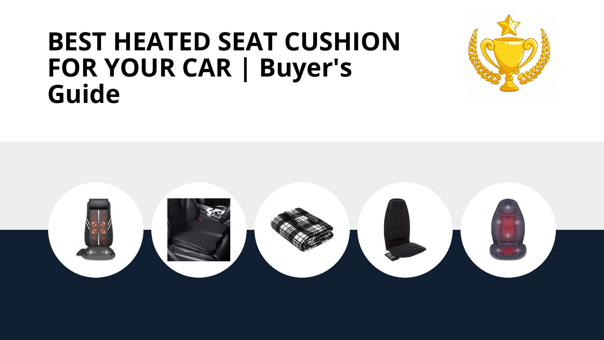 Best Heated Seat Cushion For Your Car: image