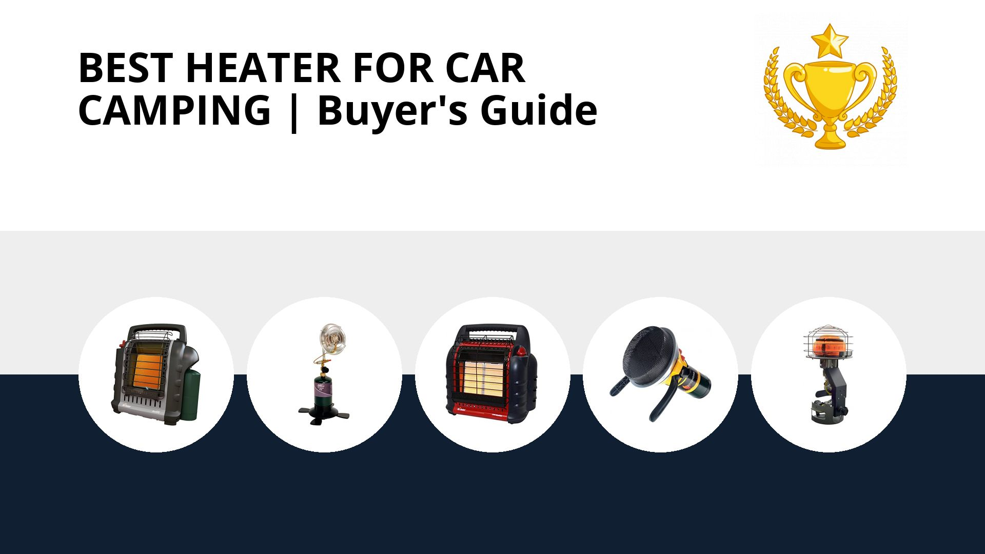 Best Heater For Car Camping: image