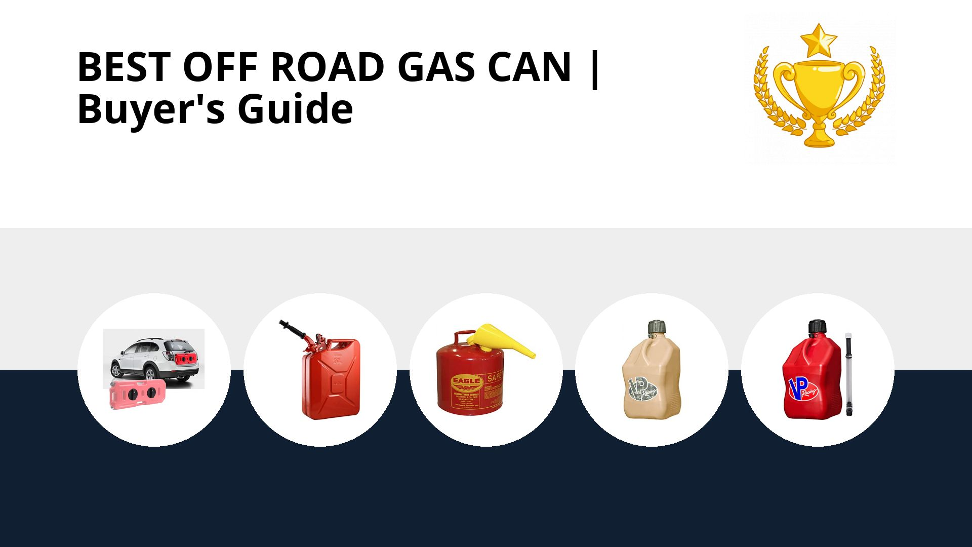 Best Off Road Gas Can: image