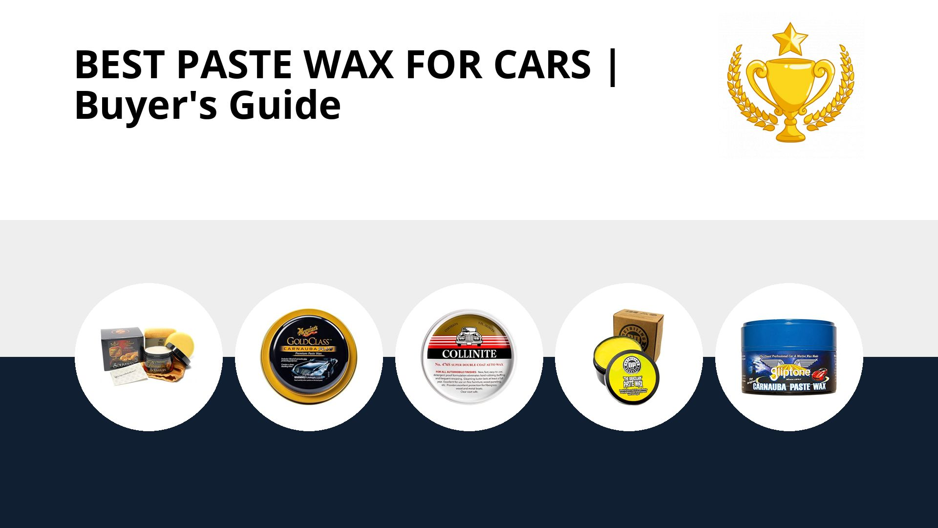 Best Paste Wax For Cars: image