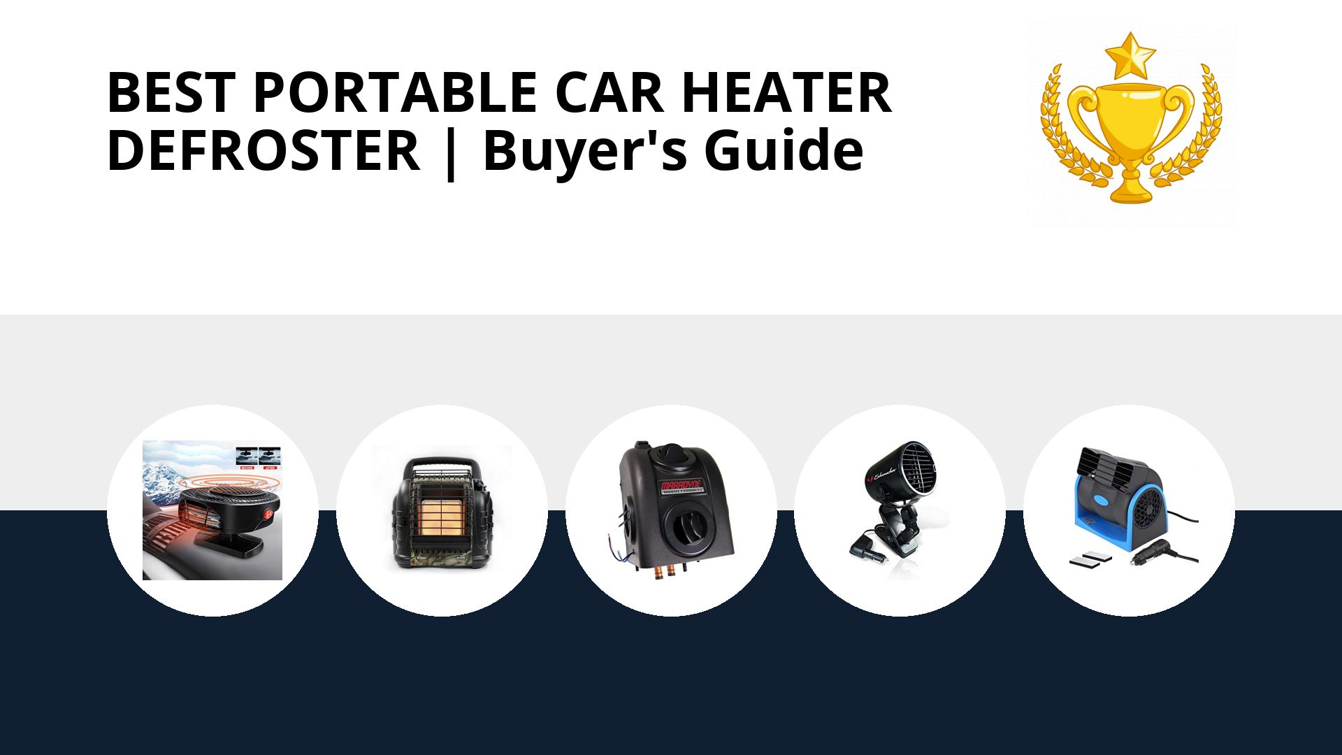 Best Portable Car Heater Defroster: image