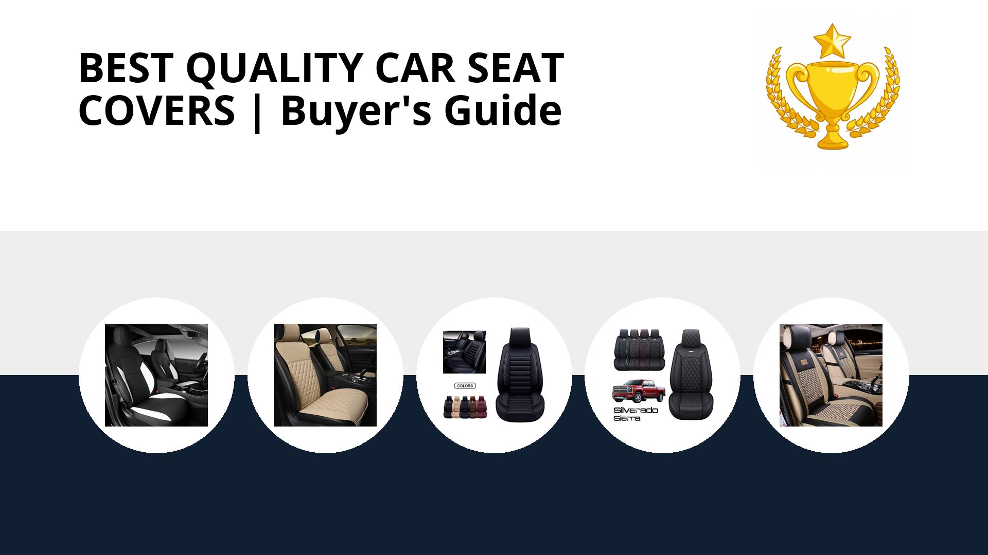 Best Quality Car Seat Covers: image