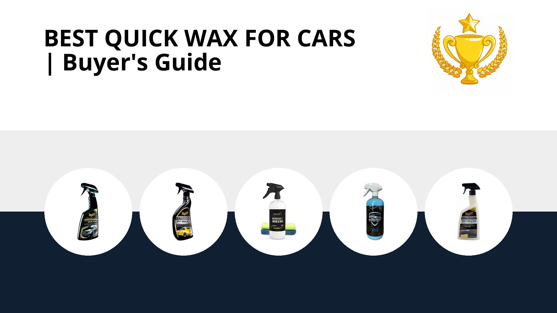 Best Quick Wax For Cars: image