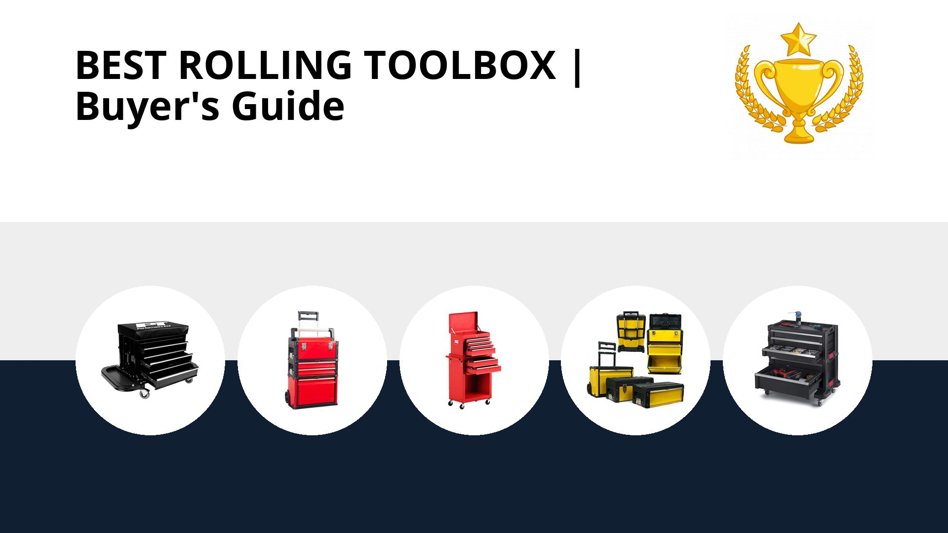 Best Rolling Toolbox: image
