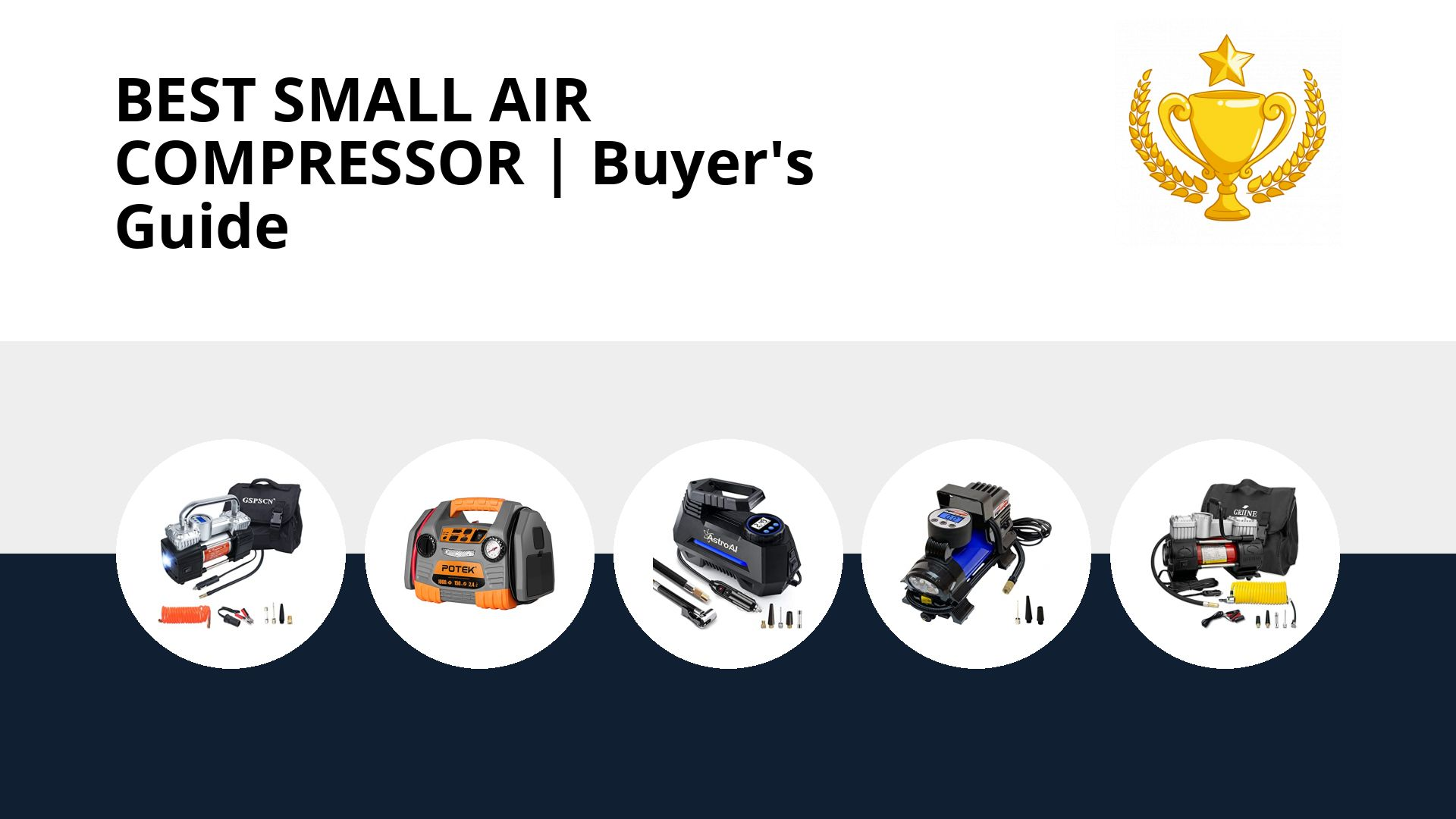 Best Small Air Compressor: image