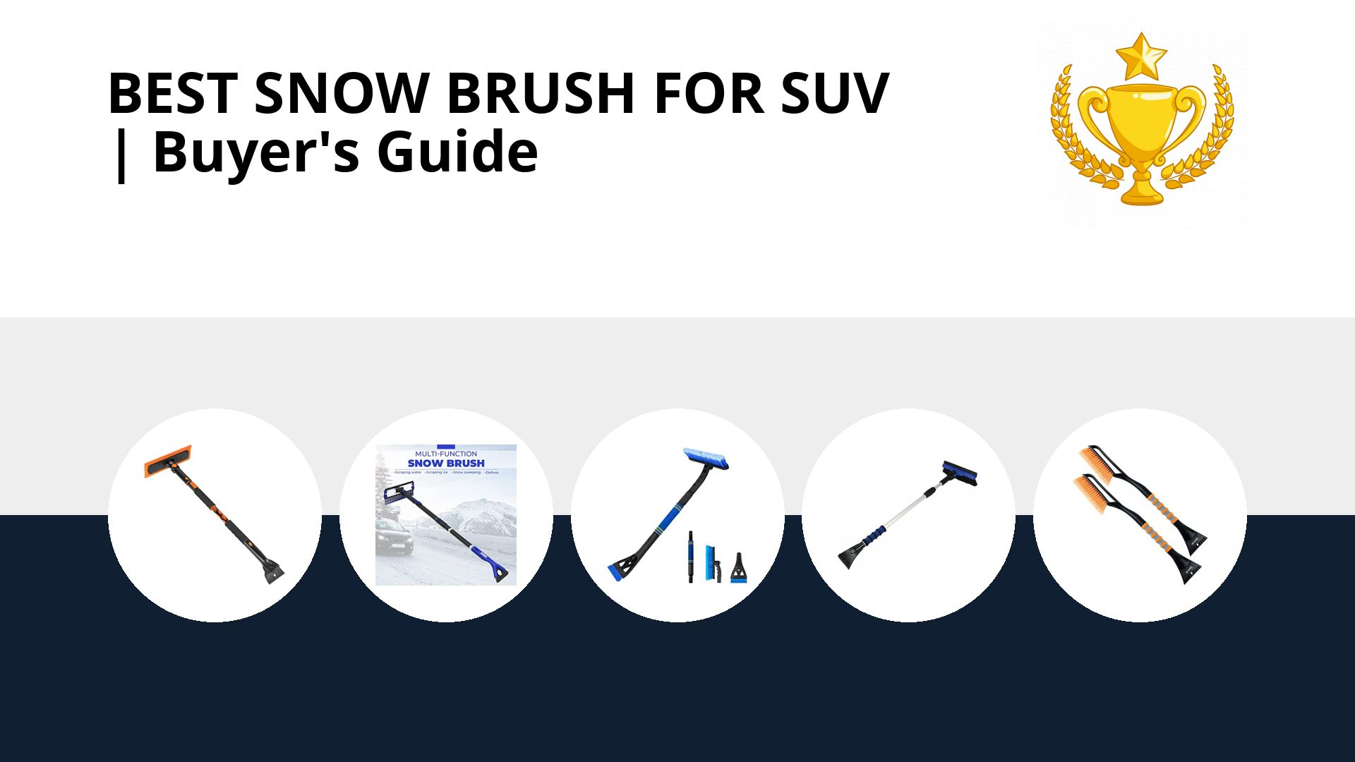 Best Snow Brush For Suv: image