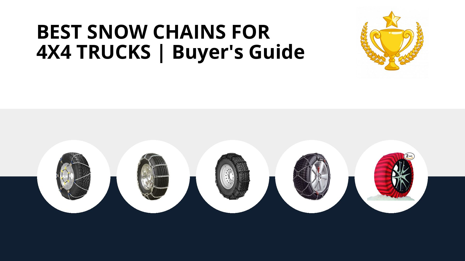 Best Snow Chains For 4x4 Trucks: image