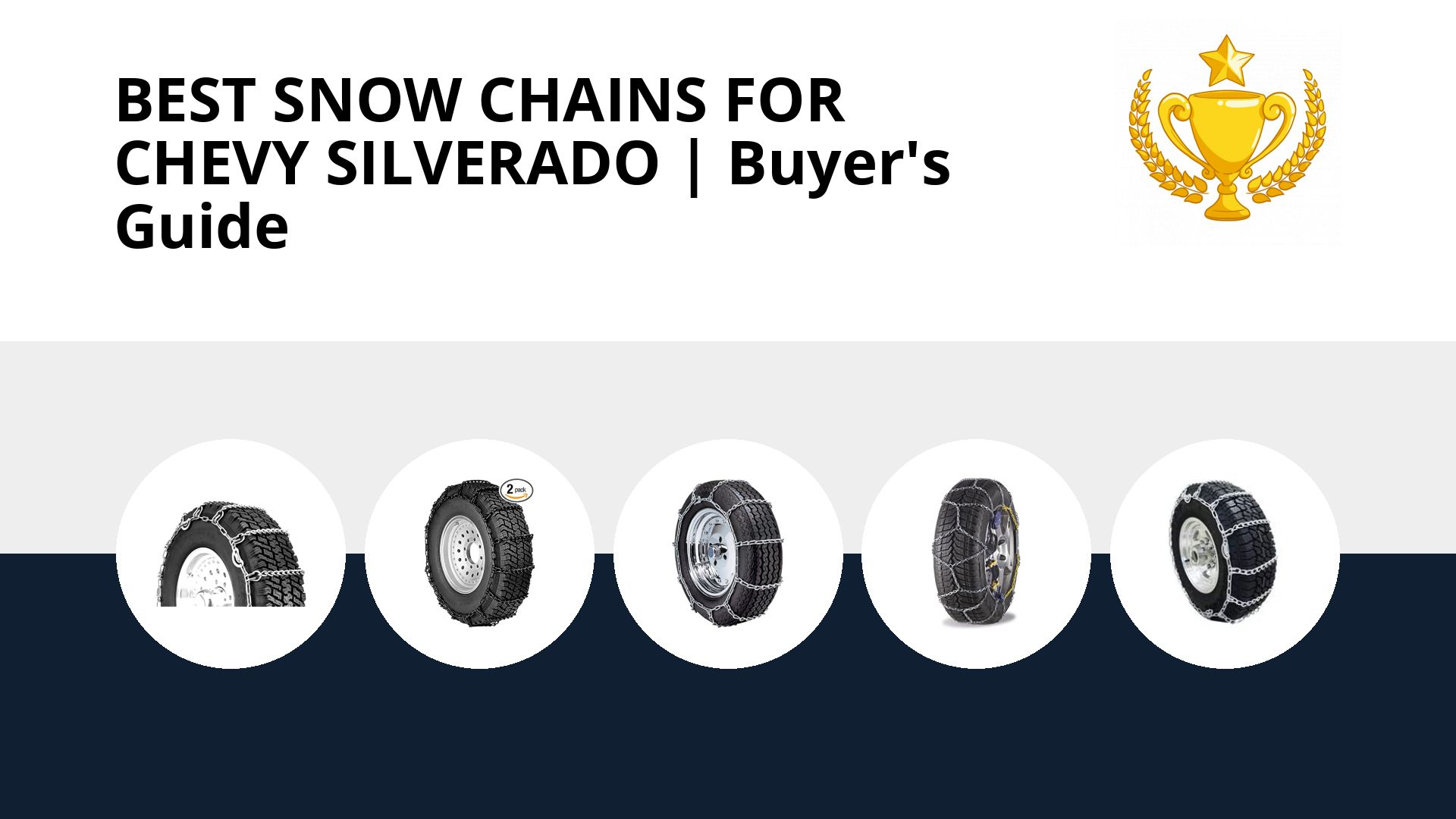Best Snow Chains For Chevy Silverado: image