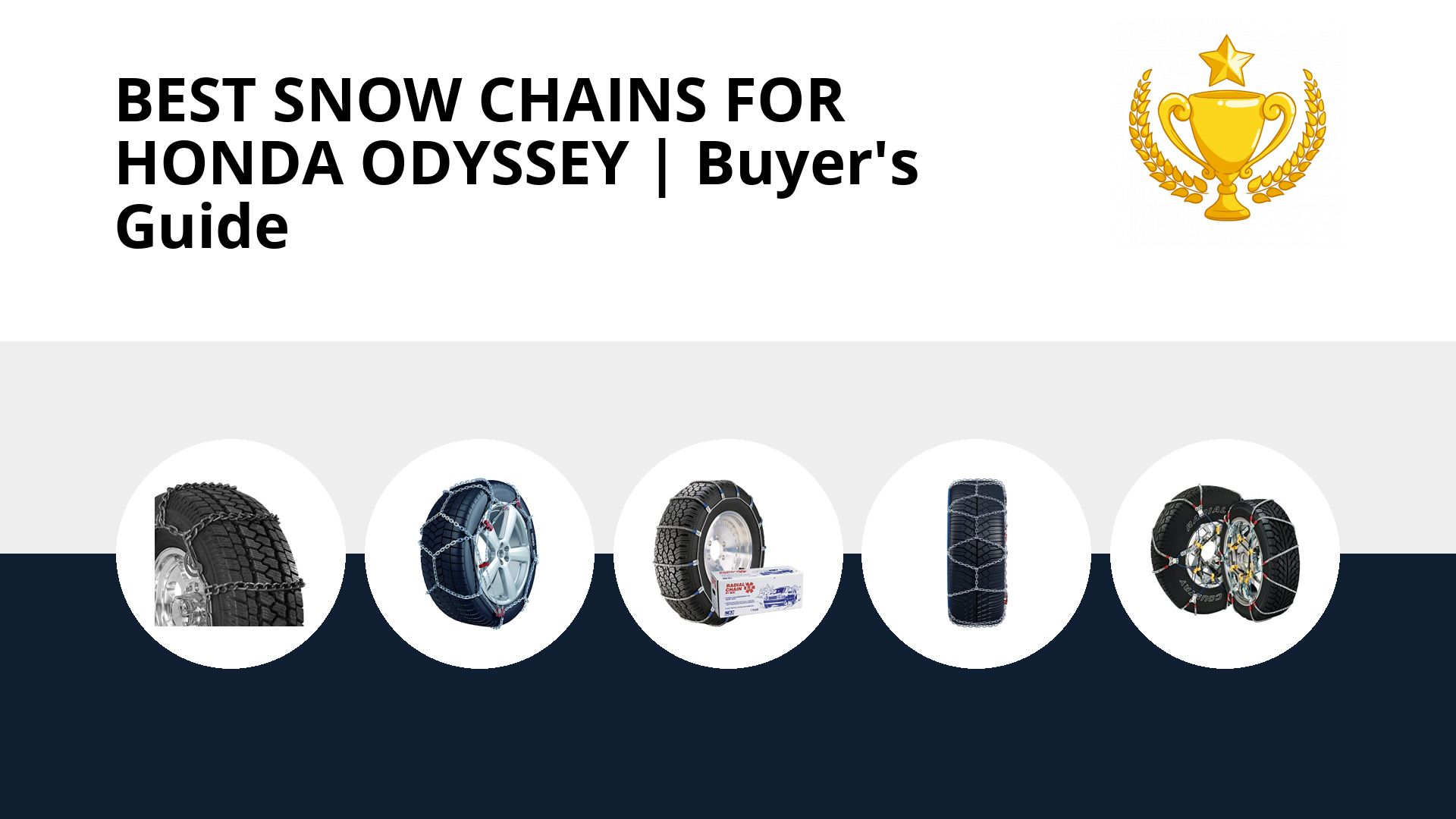 Best Snow Chains For Honda Odyssey: image