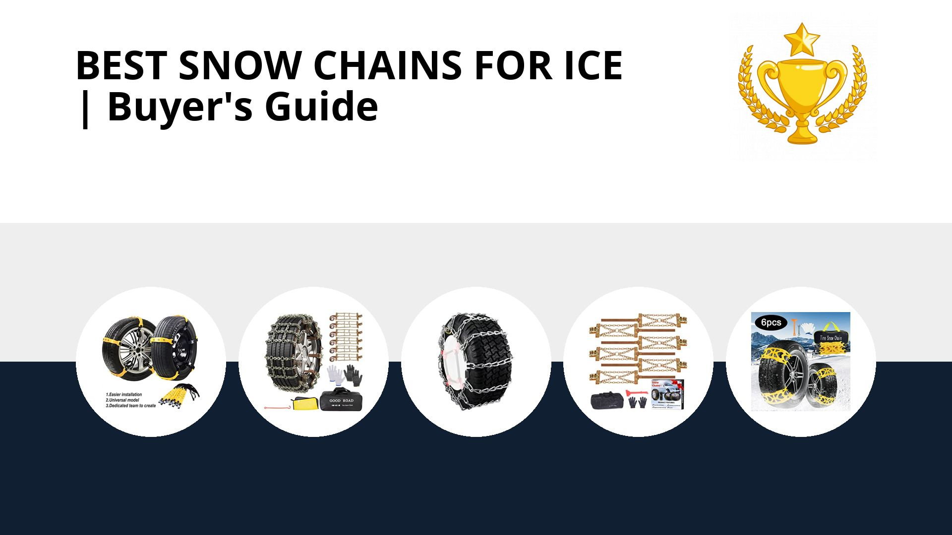 Best Snow Chains For Ice: image