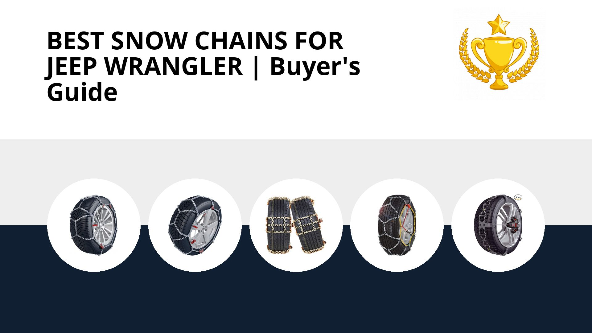 Best Snow Chains For Jeep Wrangler: image