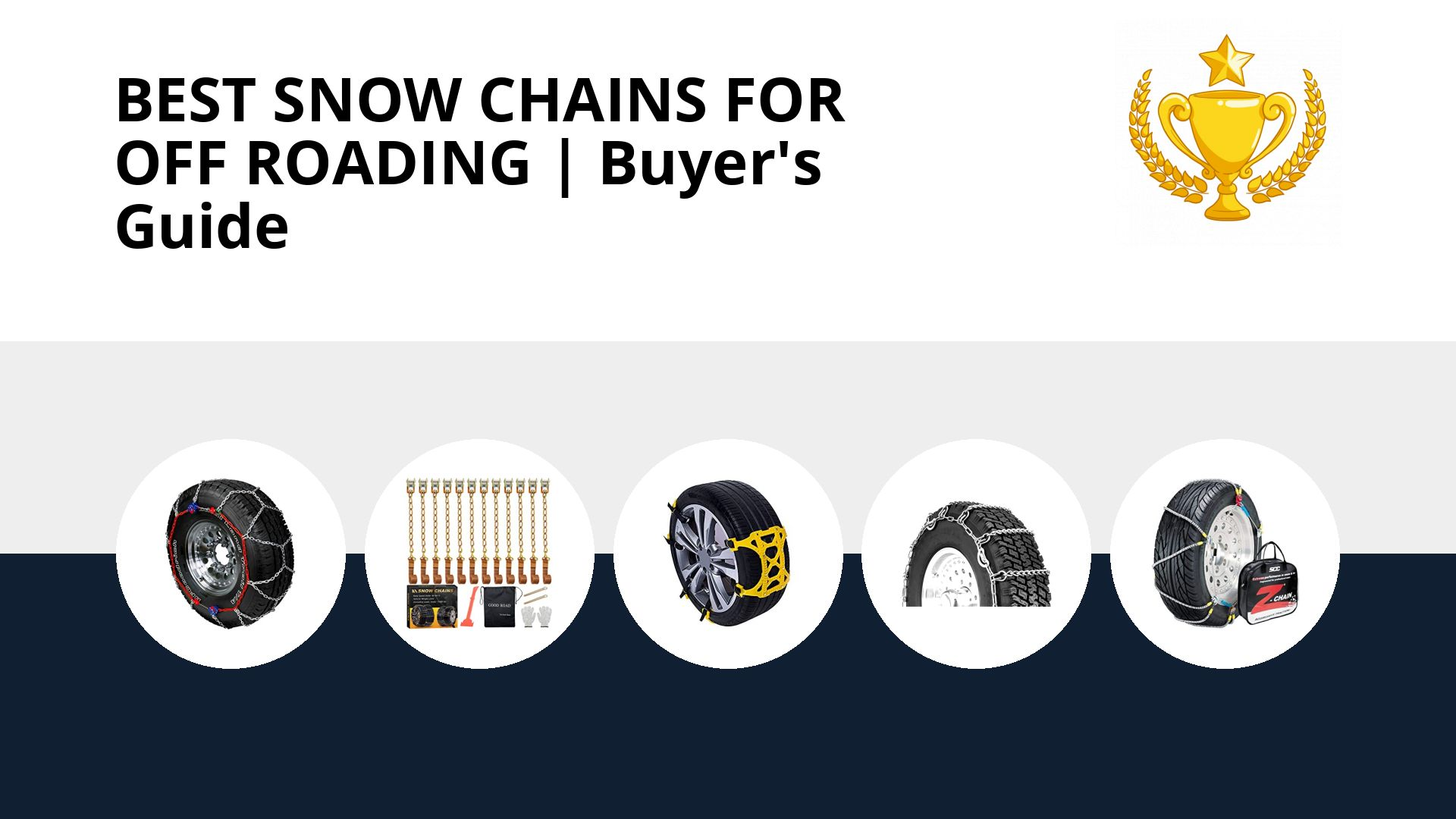 Best Snow Chains For Off Roading: image