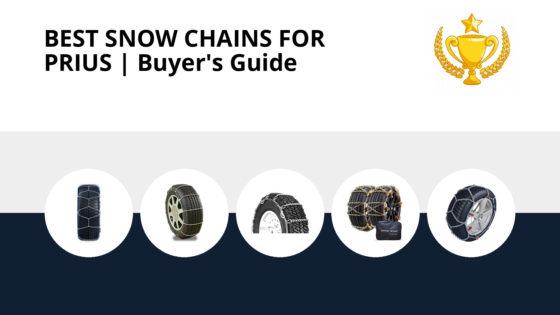 Best Snow Chains For Prius: image