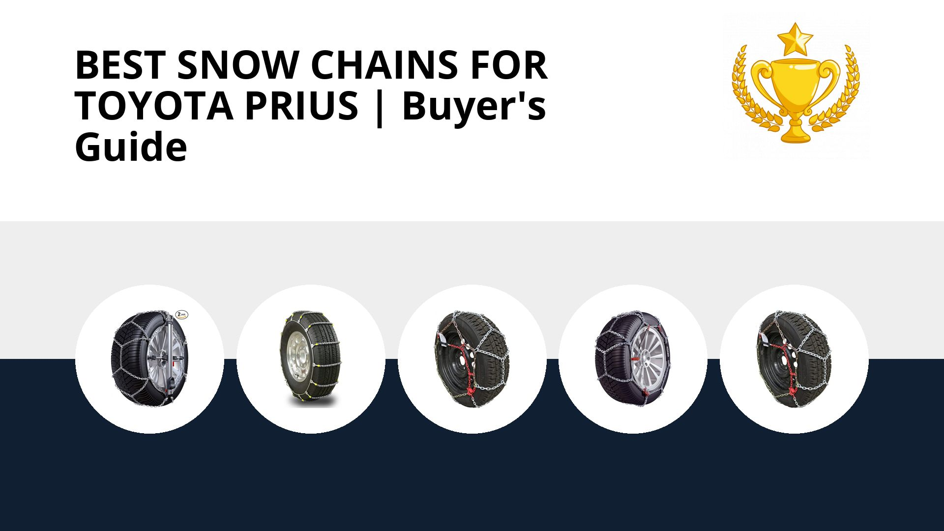 Best Snow Chains For Toyota Prius: image