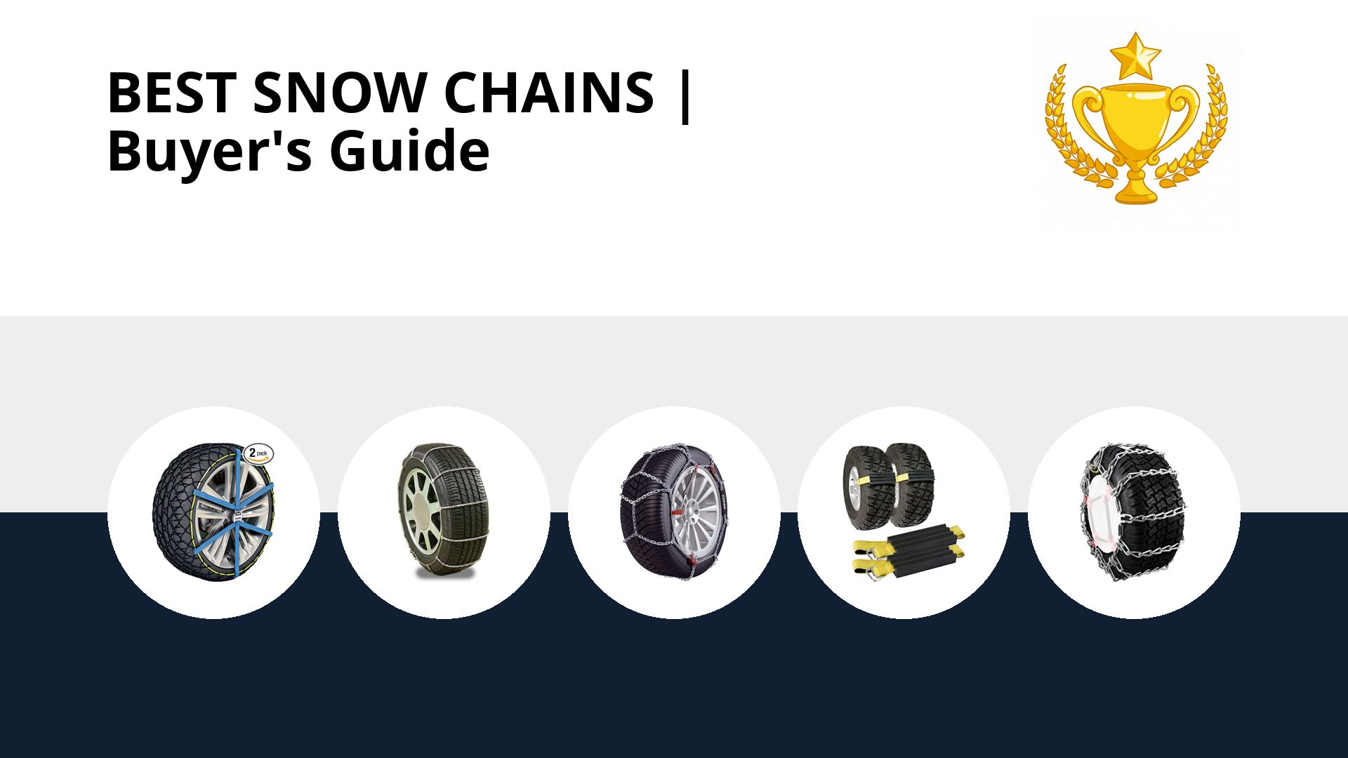 Best Snow Chains: image