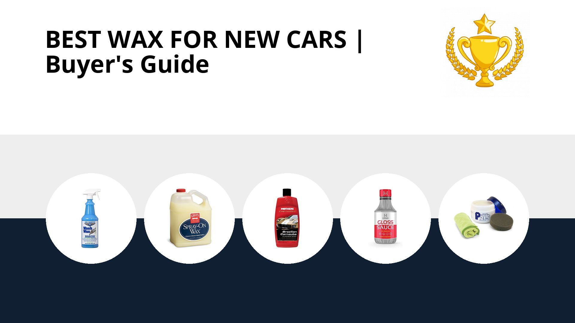 Best Wax For New Cars: image