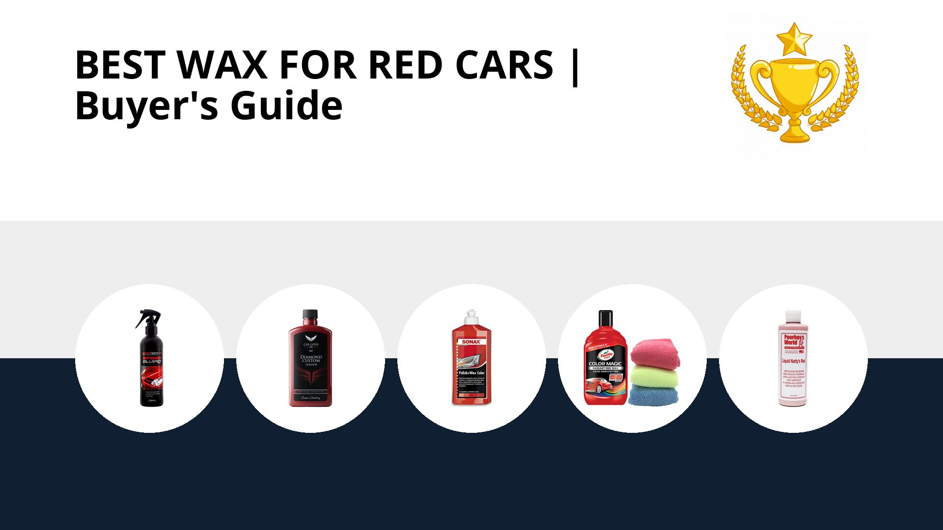 Best Wax For Red Cars: image