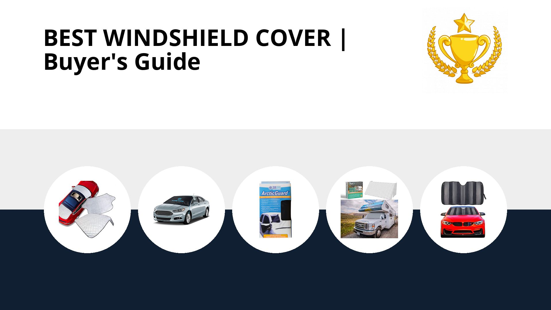 Best Windshield Cover: image