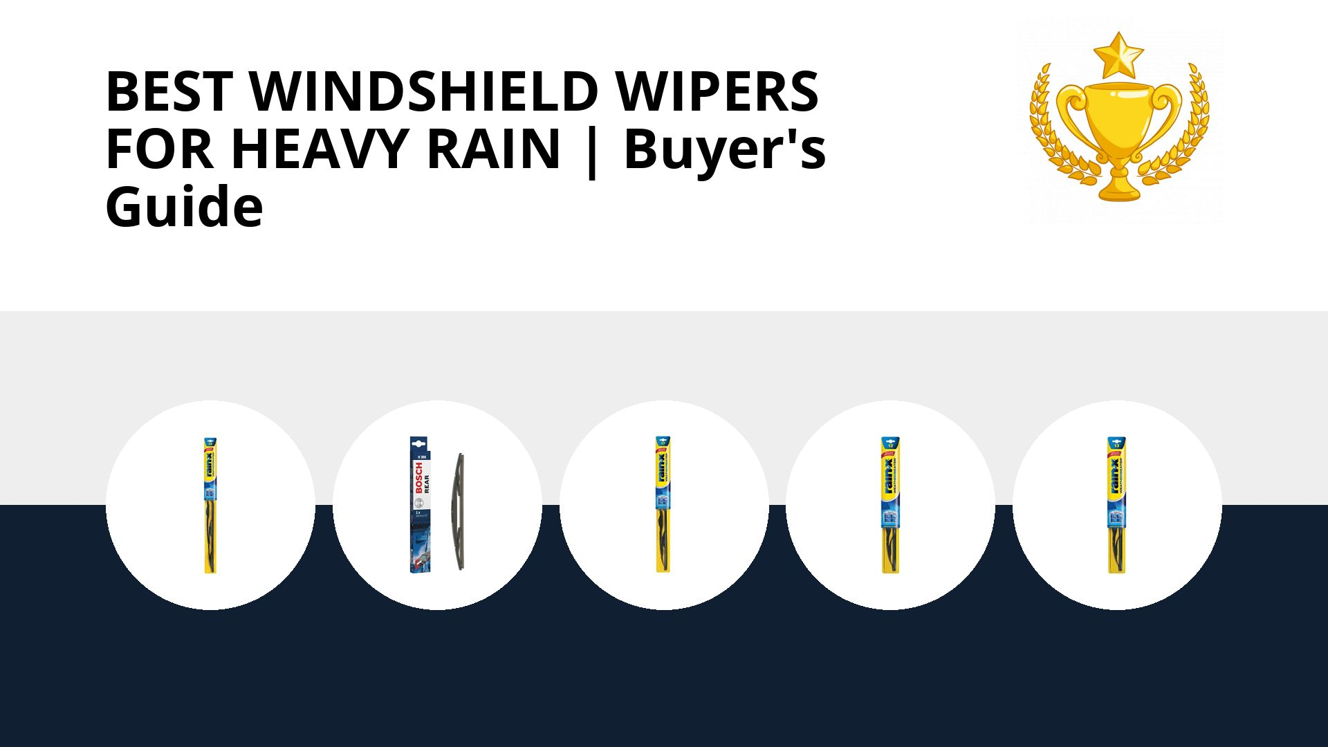 Best Windshield Wipers For Heavy Rain: image