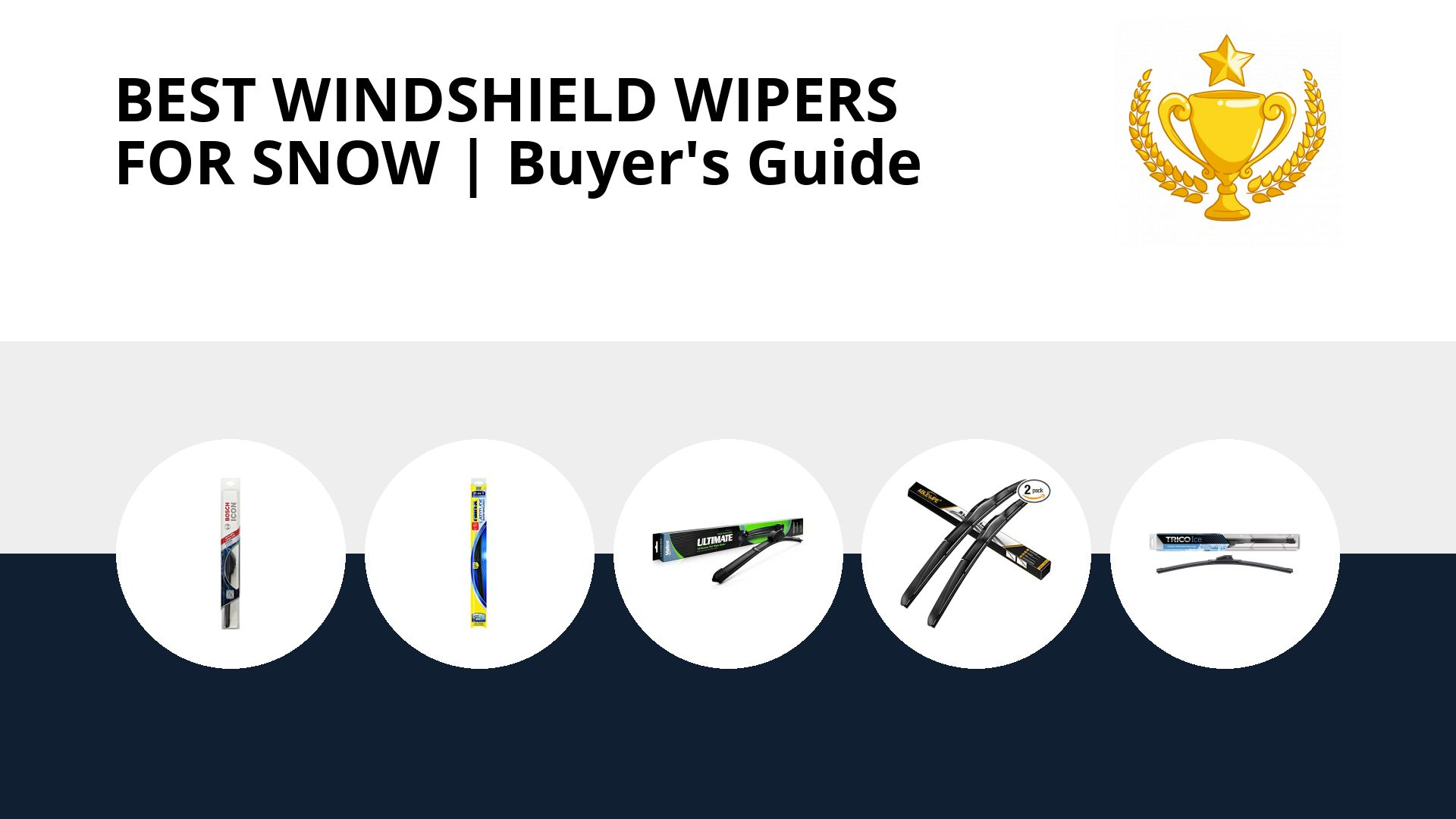 Best Windshield Wipers For Snow: image