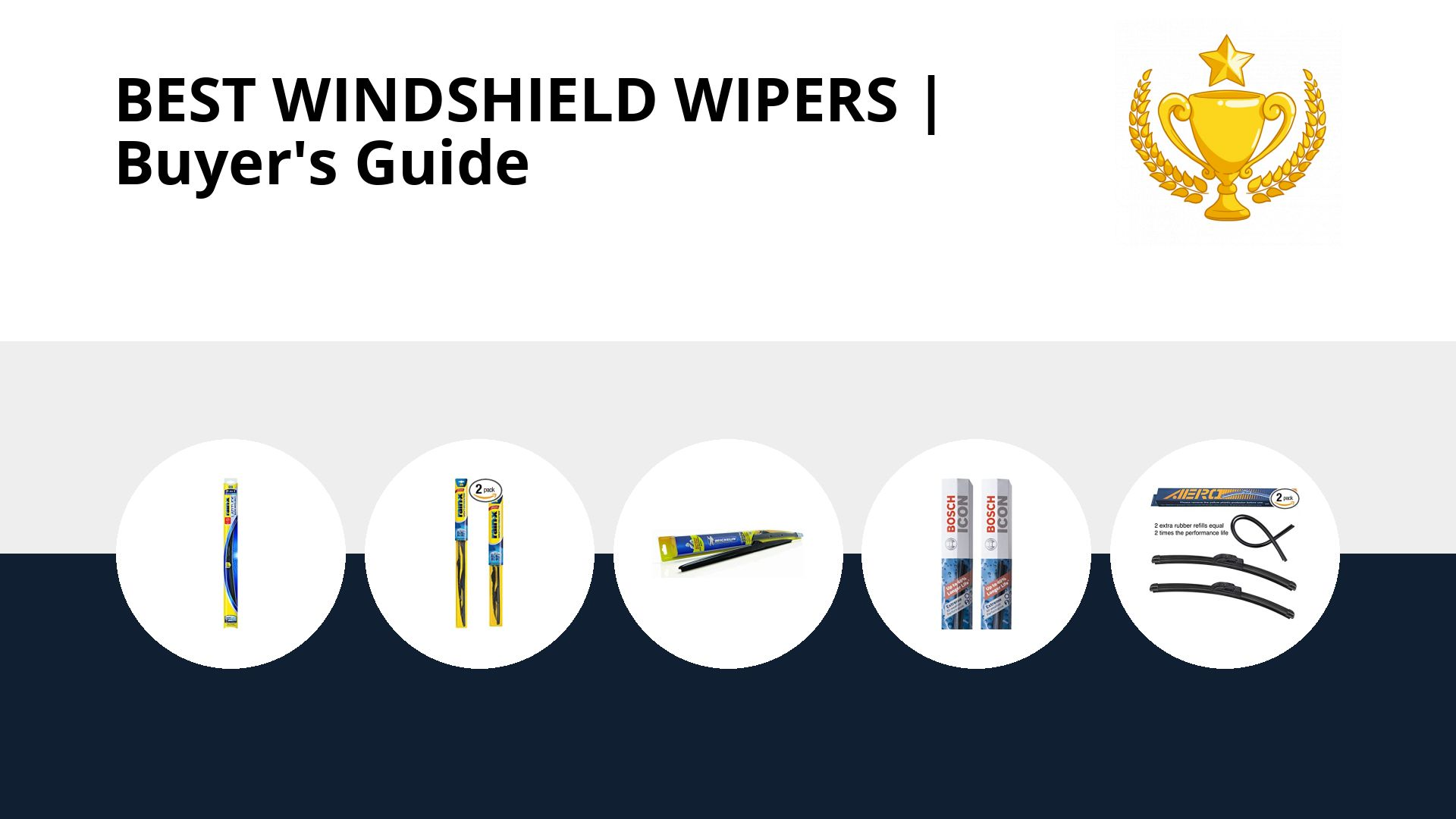 Best Windshield Wipers: image